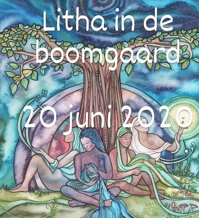 Litha in de boomgaard
